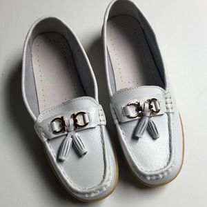 White Loafers